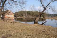 Pavasara plūdi Gaujā pie Valmieras 2010