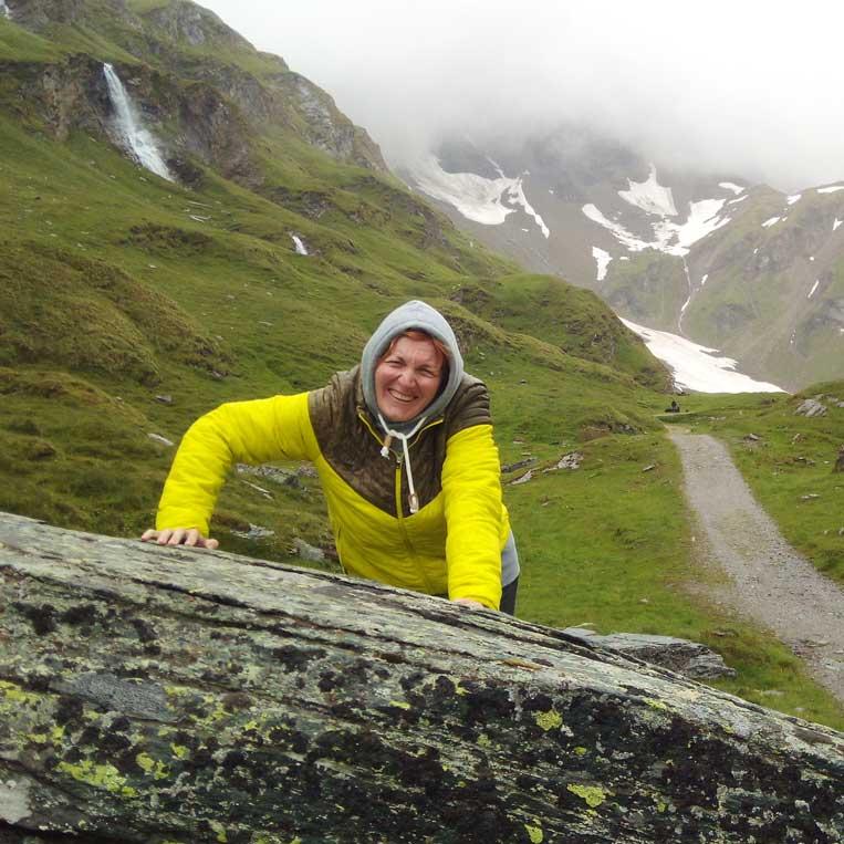 ilona tropa par mani ceļš grossglockner austrijas alpos