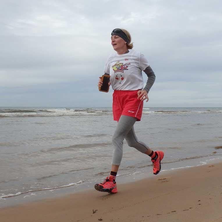 ilona tropa par mani vidzemes jūrmala latvija skriesana running