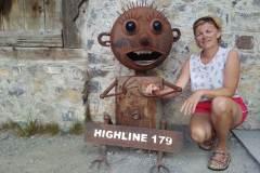 Ilona Tropa | Tilts Highline179 Austrijas Alpos