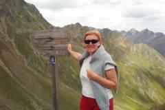 Ilona Tropa | Timmelsjoch pāreja Itālijas-Austrijas Alpos