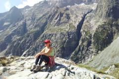Ilona Tropa | Uz ledāju Blanc Francijas Alpos