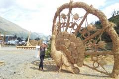 Ilona Tropa | Salmu skulptūras Valloire pilsētā Francijas Alpos