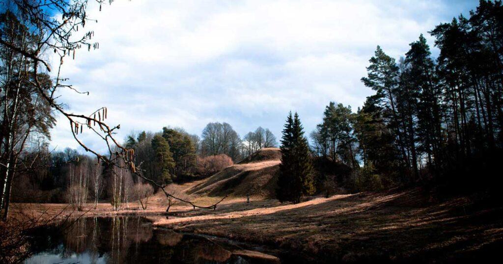 latvijas pilskalni